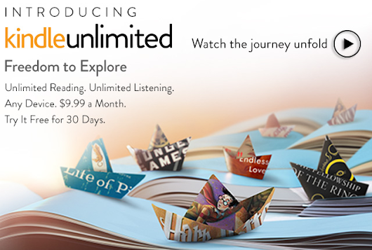 Amazon Officially Announces 'Kindle Unlimited' E-book and Audiobook Subscription Service