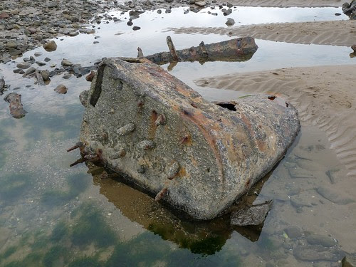 11332 - Gower Shipwreck, Whiteford Point