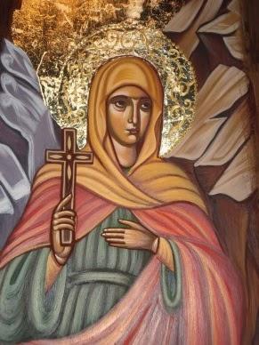 Η αγία μάρτυς Γλυκερία και οι πονηρές ενέργειες των μάγων († 13 Μαϊου)