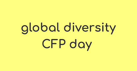 global diversity CFP day