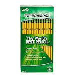 Dixon Ticonderoga Company DIX13872 Original Ticonderoga Pencils 96BX Unsharpened