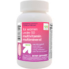 Women's Under 50 Multivitamin Dietary Supplement Tablets - 120ct - Up&Up , Women's