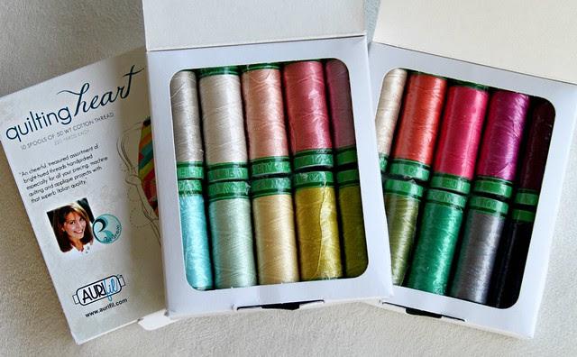 Pat Bravo Aurifil Thread Kits!