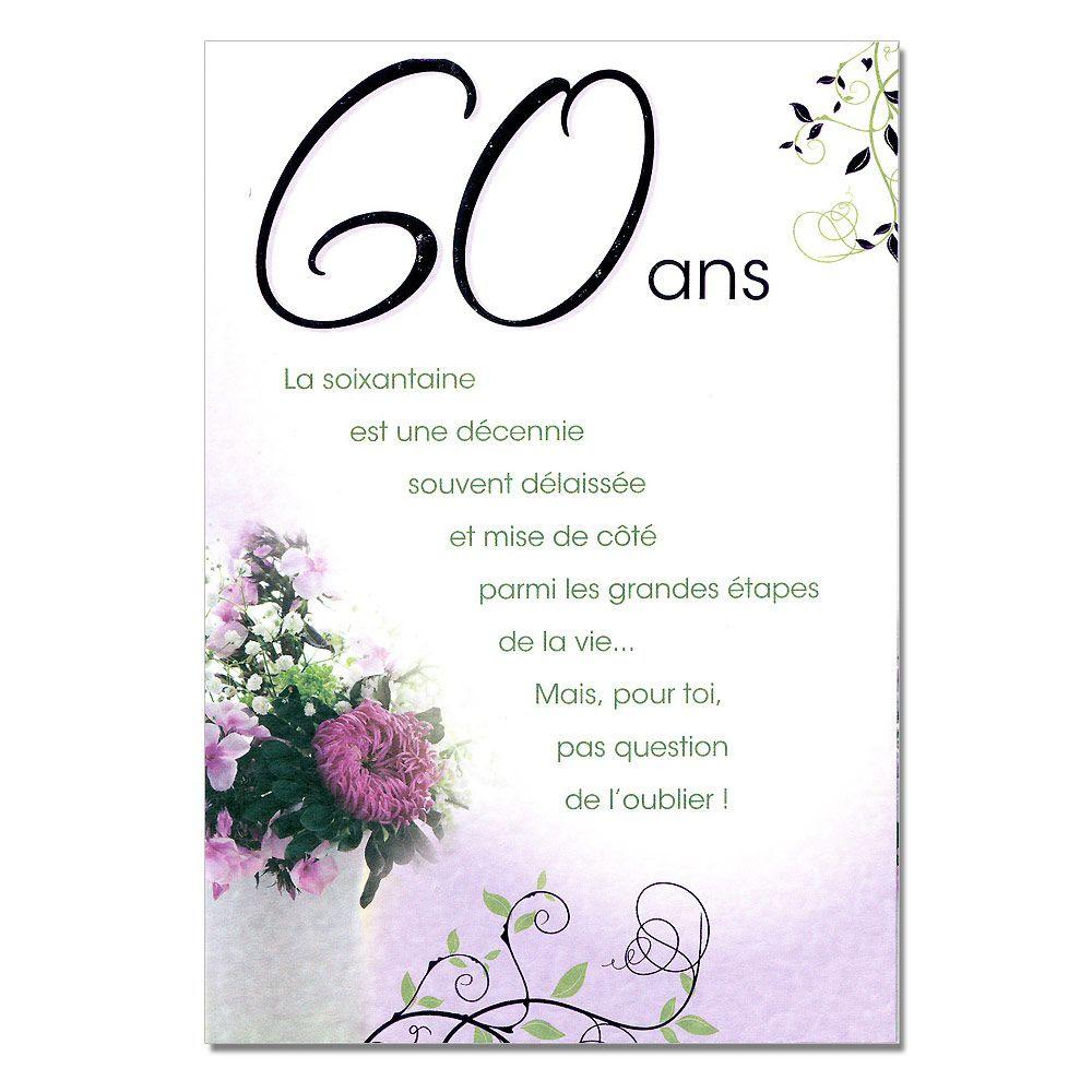 Carte De Remerciement Anniversaire 60 Ans Gratuite Cartes Fiolazoezoey Blog