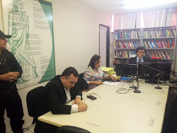 Audiência de custódia aconteceu nesta terça-feira (26) (Foto: Fernanda Zauli/G1)