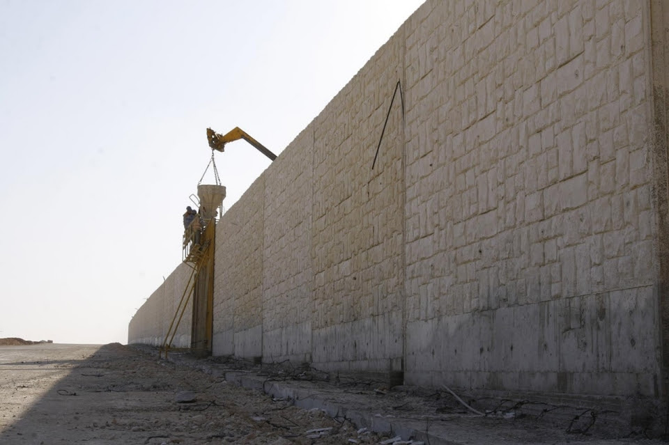 barrier wall