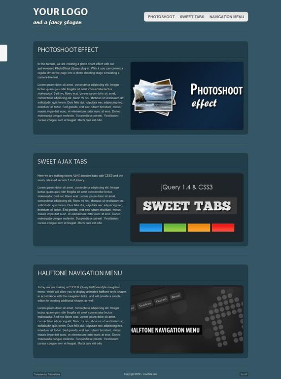 Fancy Xhtml Template Crest - Professional Resume Examples - jiken.info