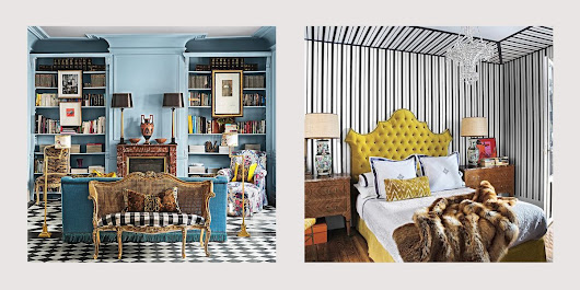 Tour the Exuberant Madrid Apartment of Spanish Fashion Designer Jorge Vázquez