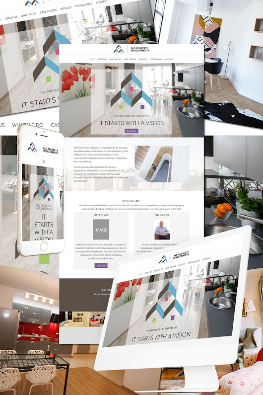 Pad Property Developments • Hostcat Web Design