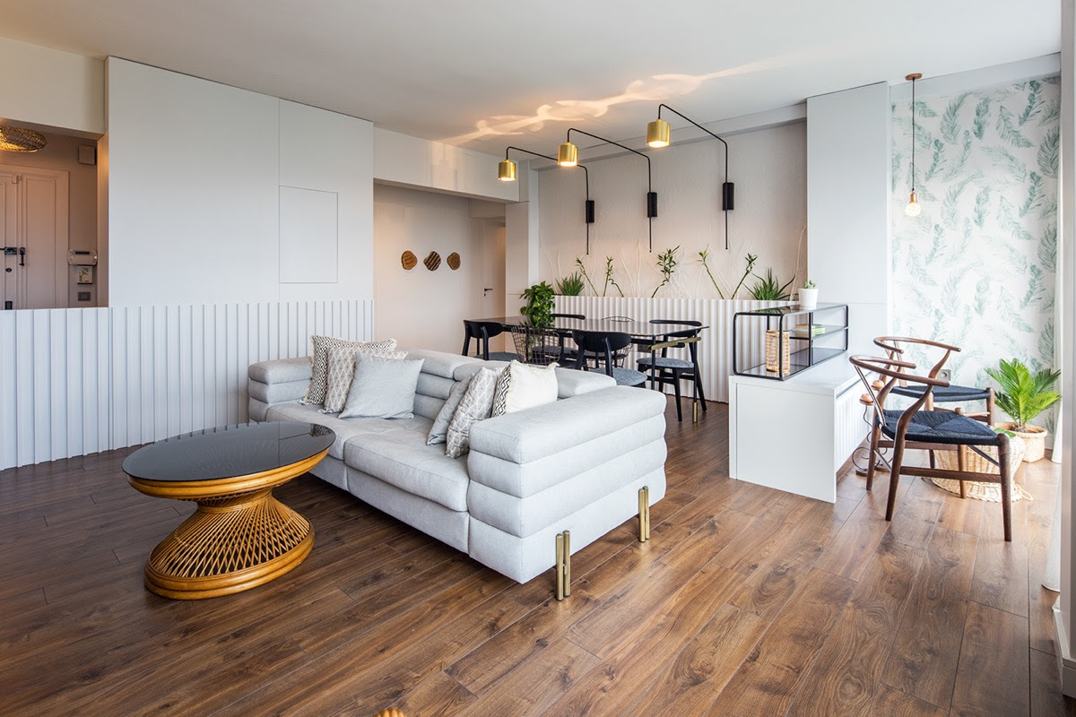 Easy Breezy Town House With Hints Of 1970s Decor