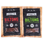 Ayoba-Yo Jerkie 2-ct. Biltong 4-oz. Air-Dried Beef Slices One-Size