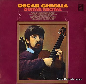 GHIGLIA, OSCAR guitar recital