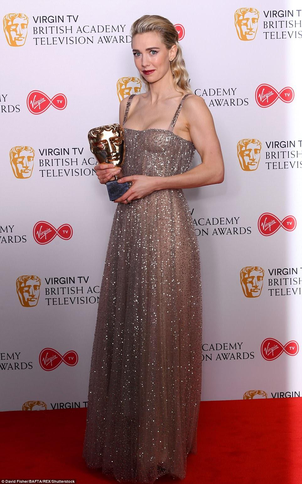 Impressionante: Vanessa Kirby ganhou a Melhor Atriz Coadjuvante por seu papel de princesa Margaret em The Crown