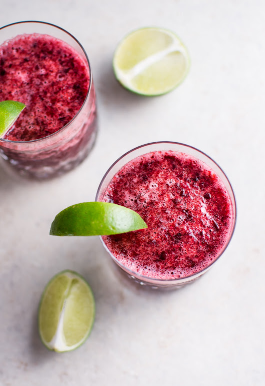 Cherry Moscato Slush • Salt & Lavender