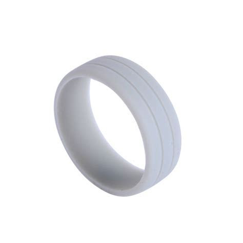 Hot Durable Unisex Flexible Rubber Silicone Ring Wedding