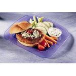 Butterball All Natural Round Seasoned Turkey Burger Patty (6 OZ, 40 Per Case)