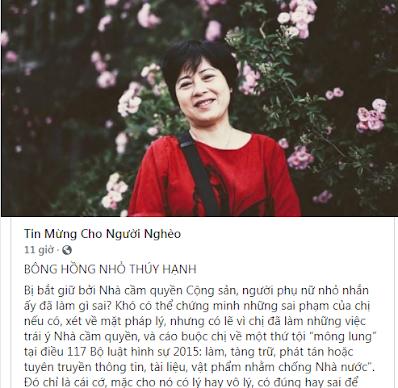 """Chuyện về """"Bông hồng nhỏ"""" - Nguyễn Thúy Hạnh"""