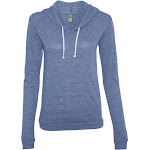 Alternative - Ladies' Classic Eco-Jersey Pullover Hoodie-ECO Pacific BLUE-M