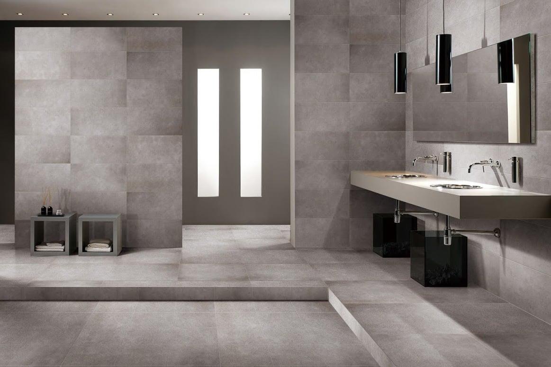 Der neue Trend für das Badezimmer: Betonoptik  Badezimmer