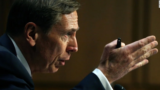 Petraeus will have to notify his probation officer if Trump taps him as secretary of state