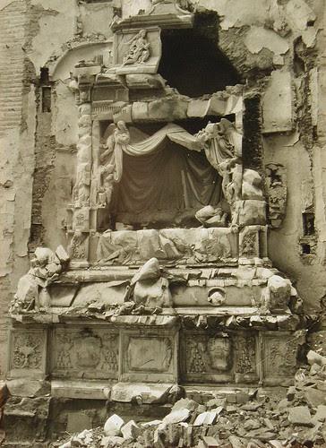 Convento de San Juan de la Penitencia (Toledo) destruido en la Guerra Civil