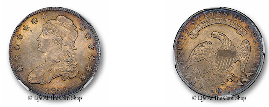 1835 Capped Bust 50c, NGC MS65+