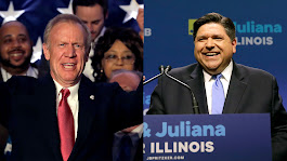 Buildup to fall showdown begins: Rauner calls Pritzker 'corrupt insider,' Pritzker labels Rauner 'failure'