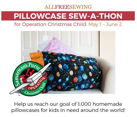 Pillowcase Sew-a-Thon for Operation Christmas Child | AllFreeSewing.com