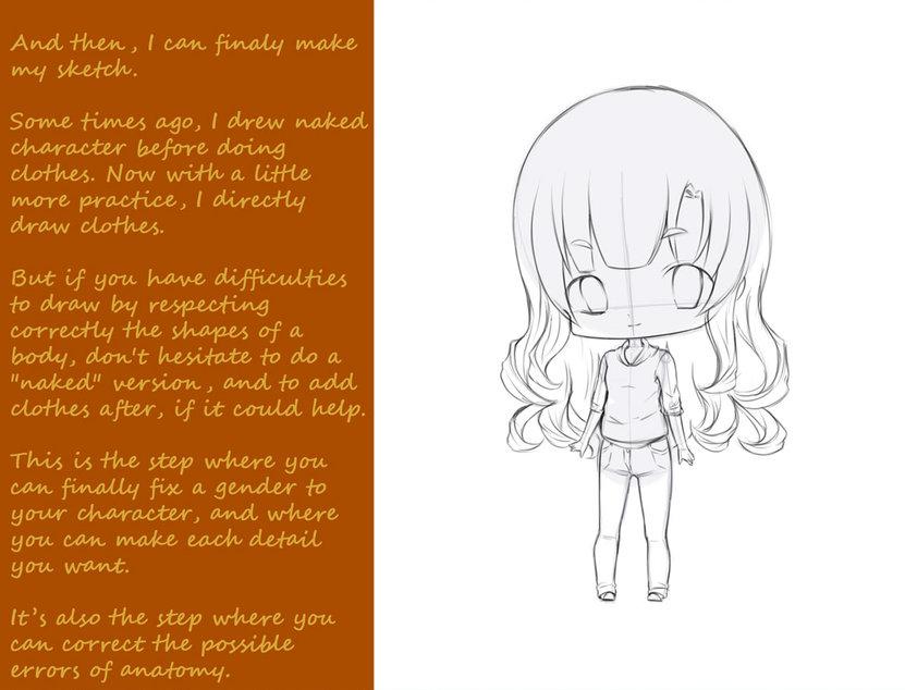 Tutorial Para Dibujar Un Personaje Chibi Primera Parte Xiibi Com