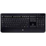 Logitech DF4130 K800 Wireless Illuminated Keyboard Black