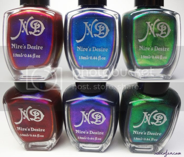 xoxoJen's bottle s hot of Nire's Desire Yoga Trio