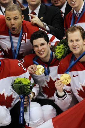 Canada gold medals