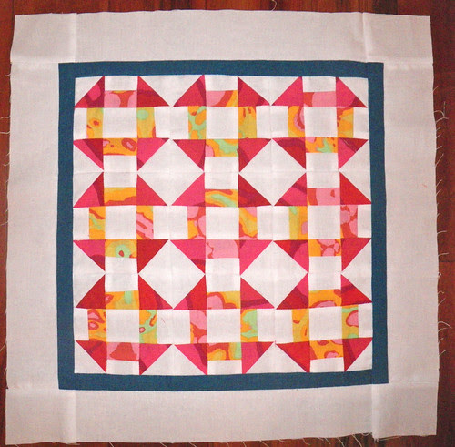 Little practice doll quilt