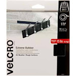 """VELCRO Brand Extreme Outdoor Tape 1""""X10'-Black 