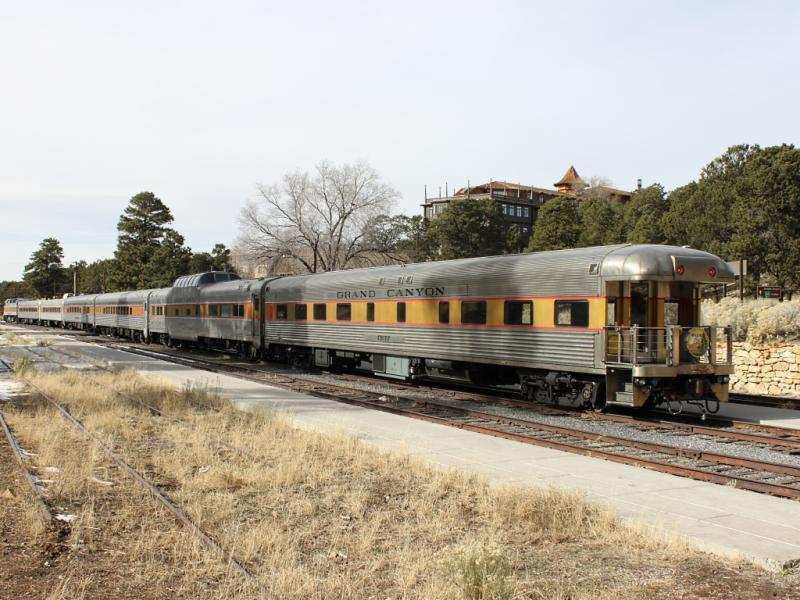 Grand Canyon train CHIEF