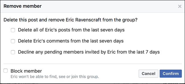 how to delete a facebook group 2017
