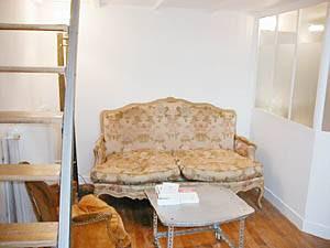 Paris Apartment: Studio Duplex Apartment Rental in Le Marais (