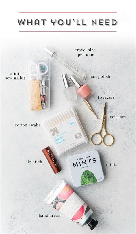 DIY Wedding Day Survival Kit   Spoonful Of Comfort