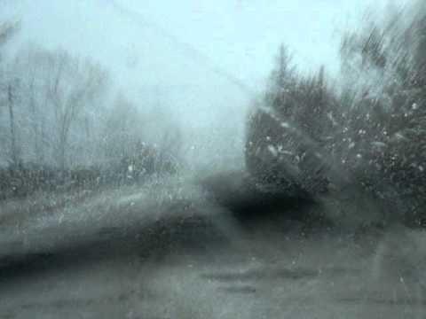 S-a întors iarna! [VIDEO]