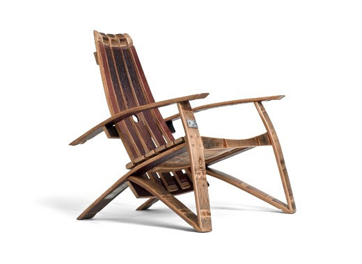 Wine Barrel Chair Made By Hand From Aged Wine Barrels From Napa Valley