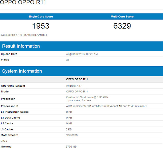 OPPO R11 will release new variant with Snapdragon 835