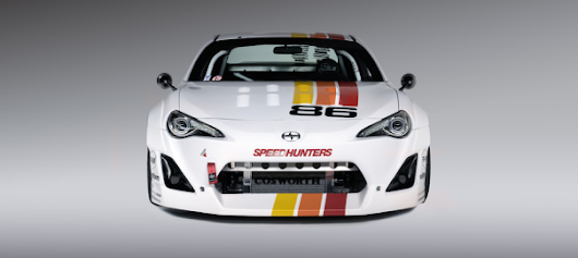 Speedhunters Builds Retro Race Car for SEMA Scion Tuner Challenge 2014 | FRS BRZ Performance