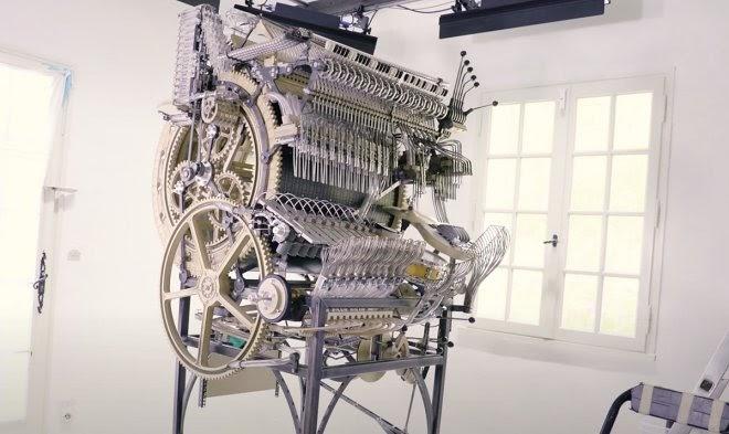 Шведская группа Wintergatan строит Marble Machine Х – шарманку XXI века