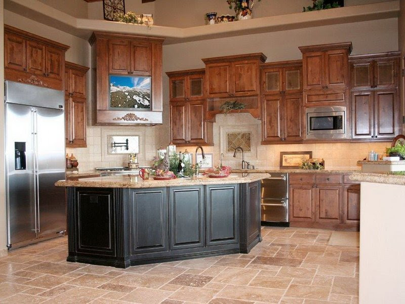 Best Kitchen Colors with Oak Cabinets - Home Furniture Design