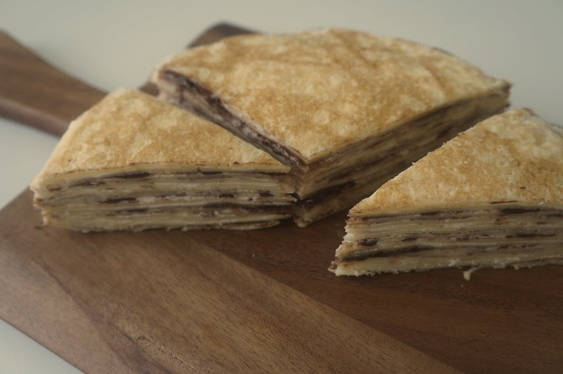 Nutella Mille Crepe Recipe