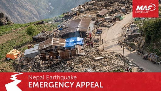 Nepal earthquake appeal | Mission Aviation Fellowship