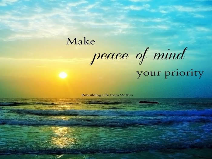 Peace Quotes Mind Quotes Pictures Peace Of Mind Is Available