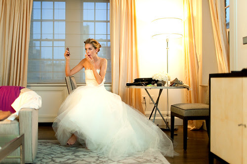 Bride Loves Snickers