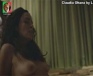 Claudia Ohana nua na serie Psi
