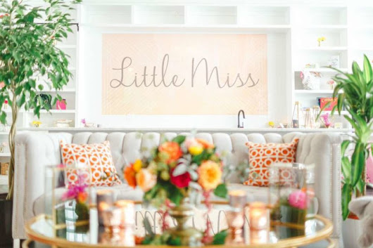 Whimsical Little Miss Baby Shower - Baby Shower Ideas - Themes - Games